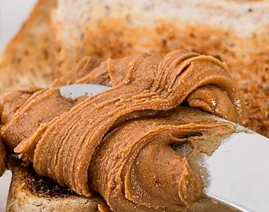 Niveles elevados de aflatoxinas en mantequilla de cacahuete